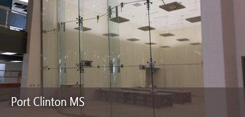 Commercial Glass Project Portfolio - Environmental Glass, Inc. - portclinton
